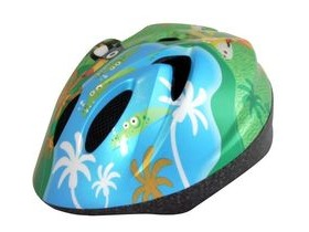 ALPHA PLUS Junior Helmet Animal Jungle