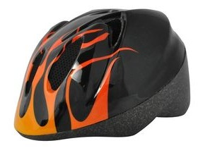 ALPHA PLUS Junior Helmet Flame