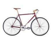 PYTHON Duke 3 colours fixie 51cm Crimson  click to zoom image