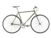 PYTHON Duke 3 colours fixie Olive 51cm  click to zoom image