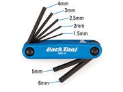 PARK TOOL AWS-10 Fold-up Hex wrench set click to zoom image