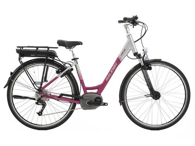 RALEIGH MOTUS HUB LOW STEP CERISE click to zoom image