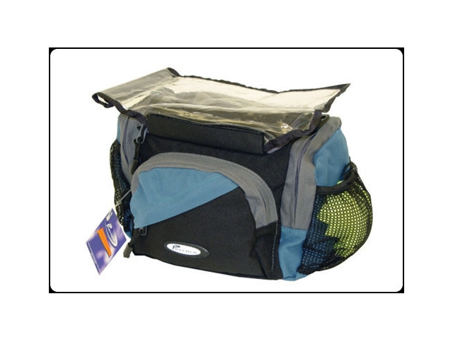 PREMIER HANDLEBAR BAG WITH RAIN COVER click to zoom image