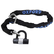 OXFORD Chain8 Chain Lock & Mini Shackle 8mm x 1000mm