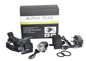 ALPHA PLUS High Power Cree 1200 lumens