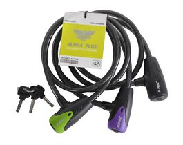 ALPHA PLUS Cable lock 1M