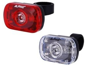 ALPHA PLUS F/R 3 bright LED'S
