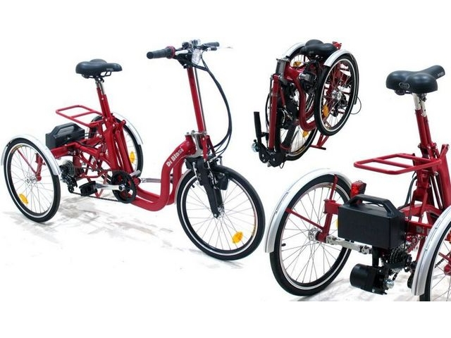 MISSION Di Blasi Folding electric trike click to zoom image