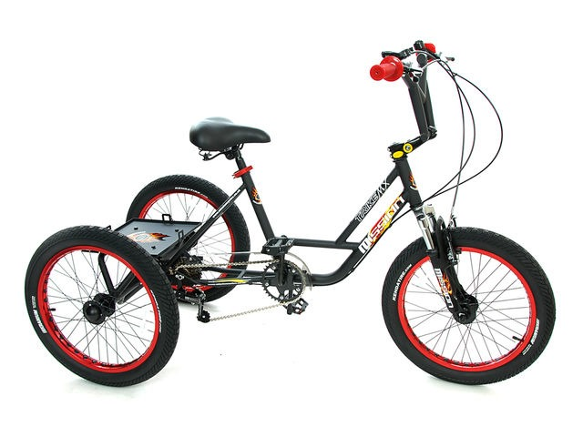"MISSION 20"" BMX Trike click to zoom image"