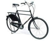 "PASHLEY Roadster Classic 24.5"" Buckingham Black  click to zoom image"