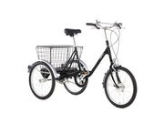 PASHLEY Picador Adults Trike 17 Black.  click to zoom image