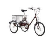 PASHLEY Picador Adults Trike 15 Burgundy  click to zoom image
