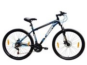 "TIGER Ace 27.5 Double disc 17"" Black & Blue  click to zoom image"