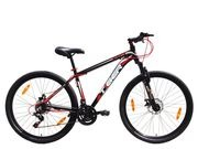 "TIGER Ace 27.5 Double disc 15"" Black & Red  click to zoom image"